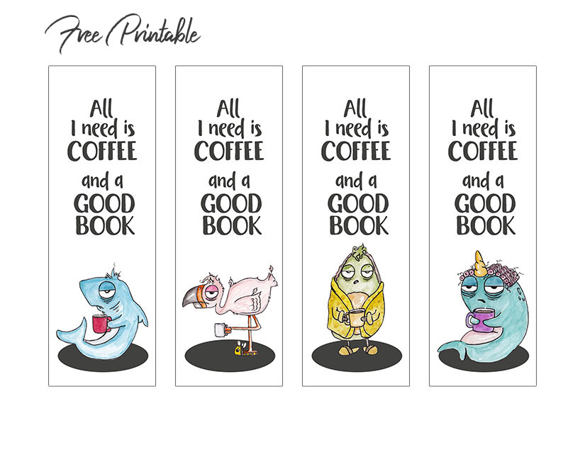 free printable funny bookmarks