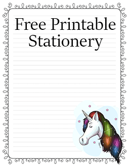 image regarding Free Printable Stationery Pdf known as Printable Rather Stationery For Letter Composing Getting Very low Ink
