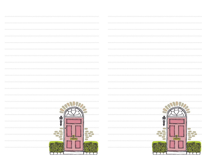 Pink Door Stationery