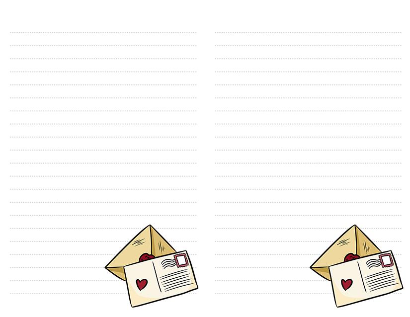 Letter Postcard Stationery