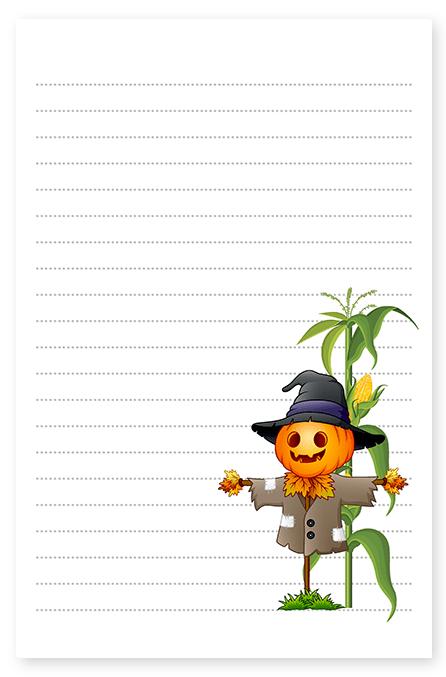 scarecrow stationery