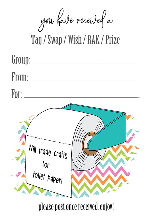 Out Of Toilet Paper Will Trade Crafts For Toilet Paper