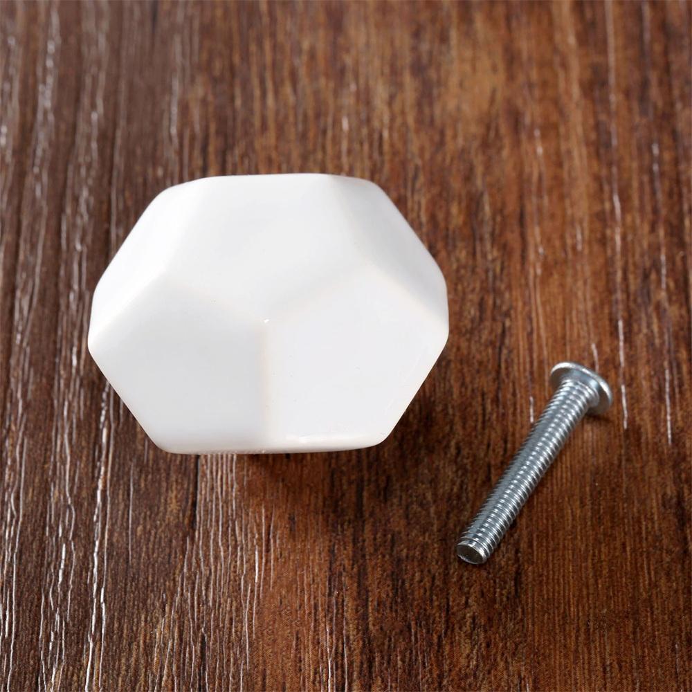 ceramic drawer pulls kitchen table with storage diamond shape cabinet knob cupboard