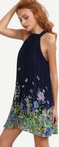 Summer Chiffon Sleeveless Party Dress