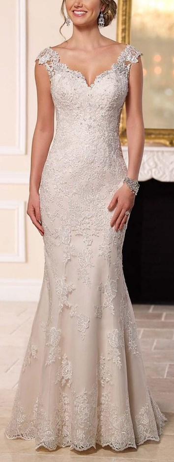 Sweetheart Off the Shoulder Mermaid Wedding Dress