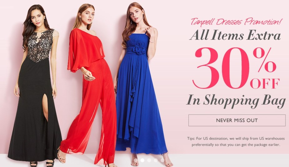 SALE TBDRESS Dresses on sales - 30off extra item