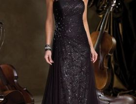Cute Black Mother Of The Bride Dresses