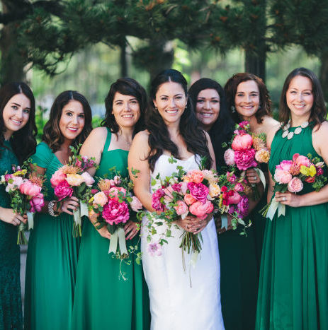 Bright & Textured Earth Glam Wedding