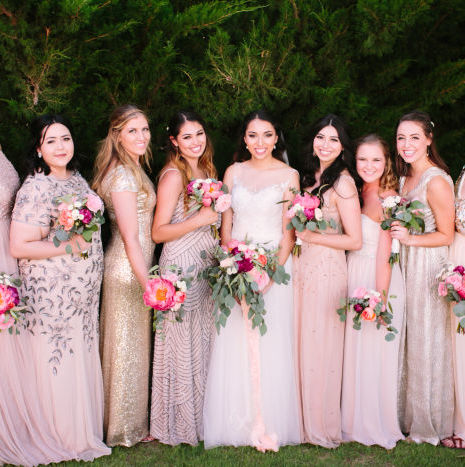 DIY West Texas Outdoor Wedding