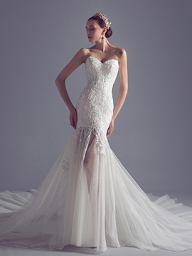 Exquisite Sweetheart Mermaid Wedding Dress