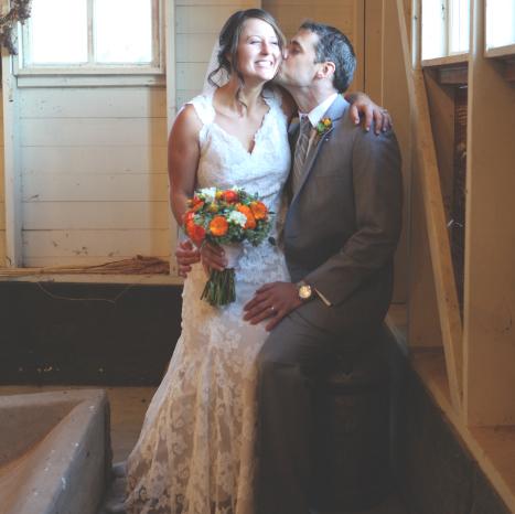 Fall Rustic Mountain Wedding