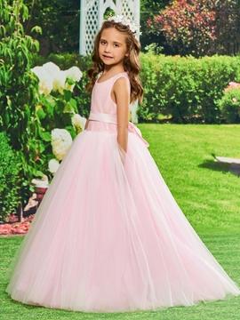 Ball GownTulle Flower Girl Dress