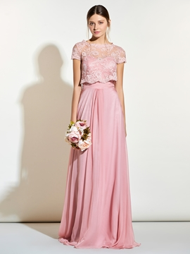 Beautiful Sweetheart Long Bridesmaid Dress With Jacket