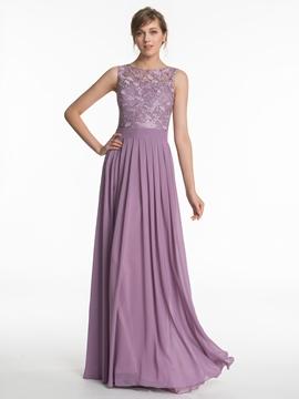 High Quality Lace A Line Bridesmaid Dress