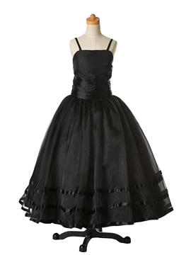 High Quality Straps Ball Gown Flower Girl Party Dress