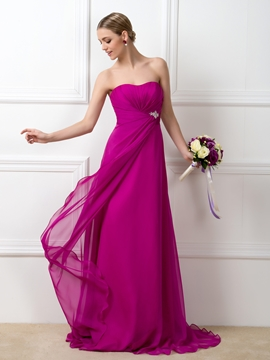 Pretty Sweetheart A-Line Bridesmaid Dress