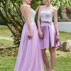 Pretty Sweetheart A Line Short Bridesmaid Dress