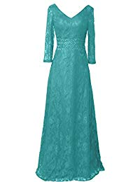Elegant Mother of Bride Dress Prom Gown T215LF