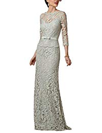 Lace Mother of the Bride Dresses Formal Gown