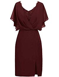 Mother of The Bride Dresses Short Formal Dresses Lace Evening Gowns