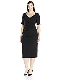 Stop Staring! Plus-Size Sheba Fitted Dress