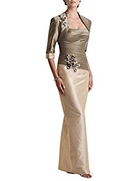 Butterfly Paradise Mother of the Bride Plus Size Dress