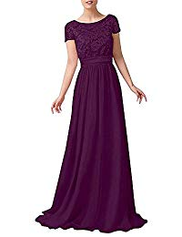 Elegant Short Sleeves Mother Of The Bride Dresses Ball Gowns