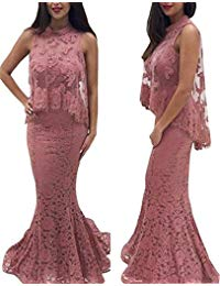 Lace Applique Mother of The Bride Dress Mermaid Formal Evening Dress