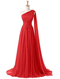 New Applique Waist Chiffon Mother of the Bride Dress for Evening Pageant