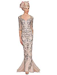 Newdeve Mother Of The Bride Dresses Blush Mermaid Long Evening Gowns
