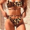 Sexy Leopard Tankini Set Swimwear