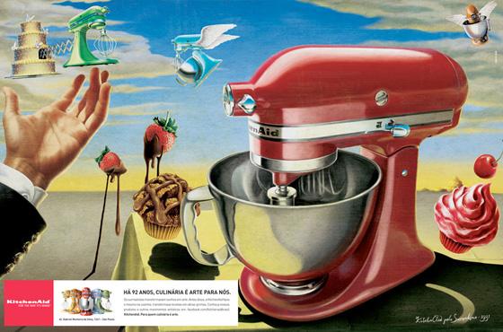 Cutedrop  KitchenAid a arte e a criao na publicidade
