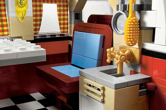 Cutedrop Kombi De LEGO