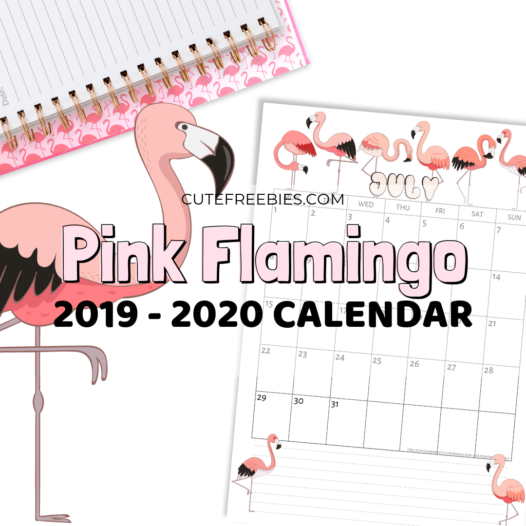 This is a graphic of Ridiculous Free Cute Printable Planner 2020