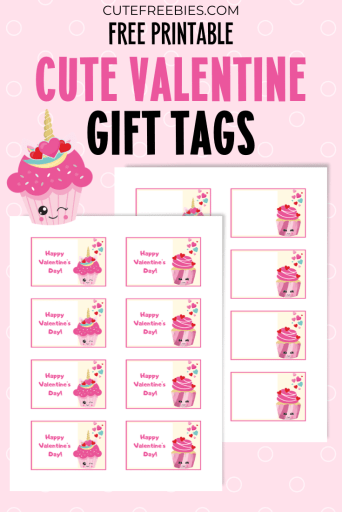 Free Printable Valentines Day Gift Tags Cute Freebies For You