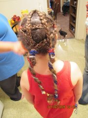 4th of july hairstyles cute girls