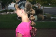 princess jasmine ponytail bubble
