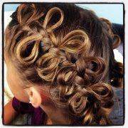 bow braid cute braided hairstyles