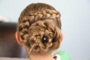 dutch flower braid updo hairstyles