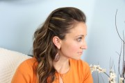 edgy side pullback easy hairstyles