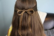 subtle bow easy hairstyles