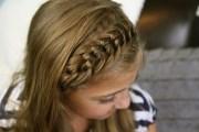 knotted headband -school