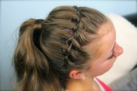 Waterfall Braid Headband Combo | Braided Hairstyles | Cute ...