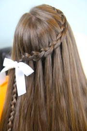 dutch waterfall braid cute girls