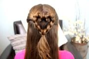 twist-braided heart valentine's