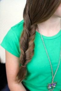Faux Fishtail Braid   Easy Braid Hairstyles   Cute Girls ...