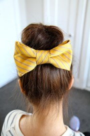 teased high bun cute updo hairstyles