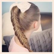 fishtail braids cute girls hairstyles