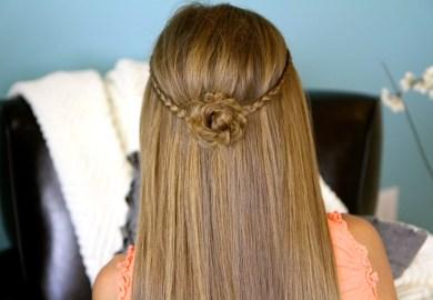 Girls Hairstyles For Short Hair