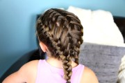 waterfall braids double frenchbacks
